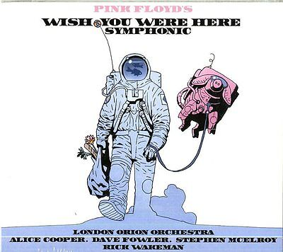 Pink Floyd - Wish You Were Here Symphonic - Rick Wakeman -  Cd Nuovo Sigillato