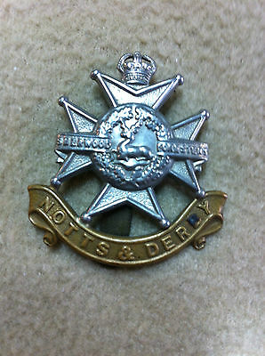 WW2 Sherwood Forester's (United Kingdom) Cap Badge