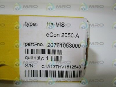 HARTING ETHERNET SWITCH Ha-VIS eCon 2050-A *NEW IN BOX*