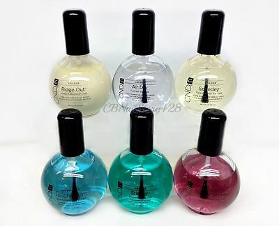 Choose any Nail Top/Base Coat 2.3oz/ 68mL-Cnd AirDry, Shiney, Speedey, Stickey
