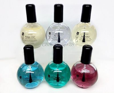 Choose any Nail Top & Base Coat 2.3oz/ 68mL-Cnd AirDry, Shiney, Speedey, Stickey