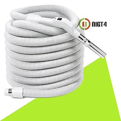 Central Vacuum 50' Non-Electric Hose with On/Off Switch