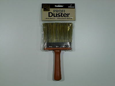 "Painters 4"" (100mm) Nour Dusting Brush Pure Bristle professional Duster Brush"