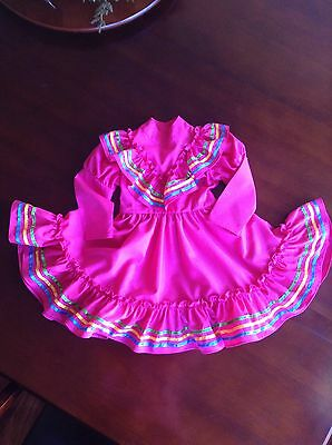 Mexican Folklorico Girl Dress