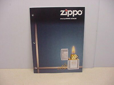 2012/2013 Zippo Choice Catalog Catalog New Never Used