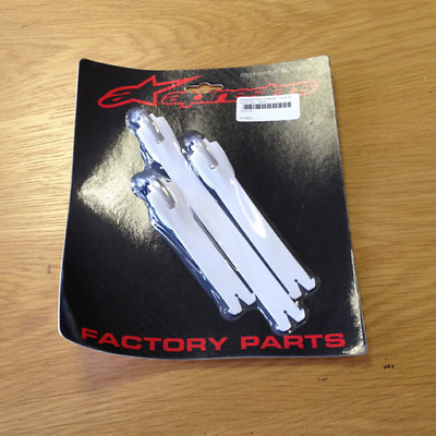 NEW Alpinestars MX Motocross Boot Strap Kit - Tech 10 (2014 On.) - White