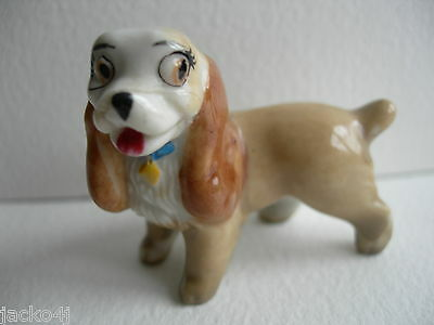 Nice Wade Lady Figure Light Brown Ears From Lady & The Tramp
