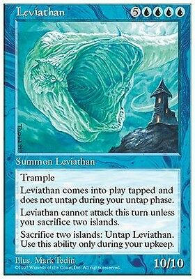 2x Leviatano - Leviathan MTG MAGIC 5E 5th Edition Eng/Ita
