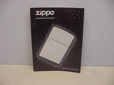 2008 Zippo Collection Mini Catalog New Never Used