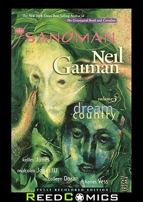 SANDMAN VOLUME 3 DREAM COUNTRY GRAPHIC NOVEL New Paperback Collects #17-20