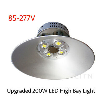 200W LED High Bay Light 85-277V WT Warehouse Mall Gym Industrial Commercial Shop