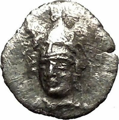 PHARSALOS Thessaly 330BC Rare R2 Ancient Silver Greek Coin Athena Horse i54041