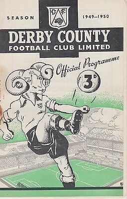 DERBY COUNTY v BARNSLEY RESERVES ~ 26 DECEMBER 1949