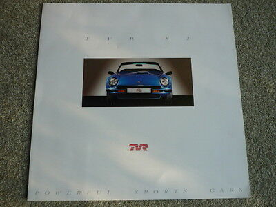 TVR S2 Oversized Car Brochure jm
