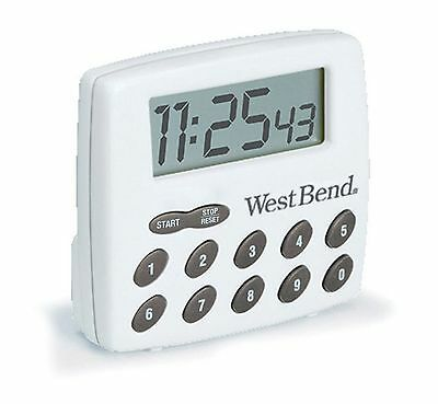 West Bend Digital Timer White 2 Ounce West Bend