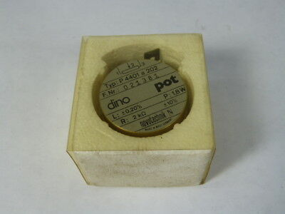 Novotechnik P4401a202/021381 Potentiometer 2k 1.8W ! NEW !
