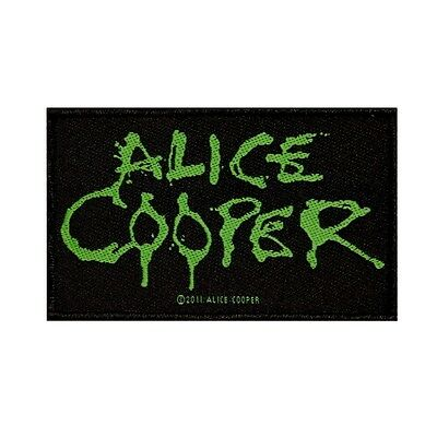 "Rock Band ""Alice Cooper"" Logo Patch Metal Fan Jacket Apparel Sew-On Applique"