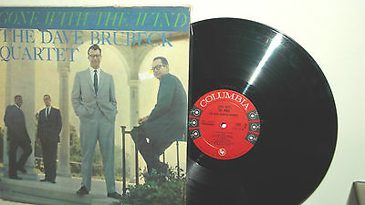"""DAVE BRUBECK -LP """"Gone with the wind"""" 1959 US 6 eyes Mono-"""
