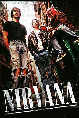 (LAMINATED) ALLEY NIRVANA LANEWAY POSTER (61x91cm)  PICTURE PRINT NEW ART