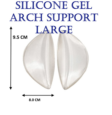 NEW ARCH Support Shoe Gel Insole Flat Feet Pad PAIN RELIEF Plantar Fasciitis