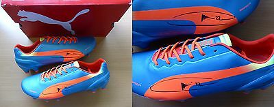 Gael Clichy Signed Puma EvoSpeed Boots - Man City (6178)
