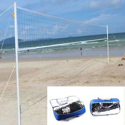 32x3 Volleyball Durable L Size Beach Tennis Badminton Net System Indoor Outdoor