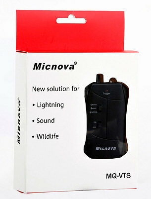 MQ-VTS: Micnova Camera Trigger (Motion, Lightning, Sound) for Sony ALPHA Camera