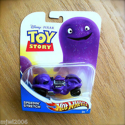 Disney PIXAR Toy Story SPEEDIN' STRETCH Hot Wheels diecast Mattel purple octopus