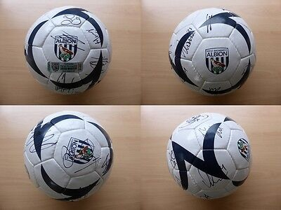 2011-12 West Brom Football Signed by Squad - Official Club Hologram (7048)