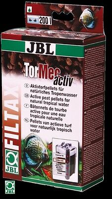 JBL Tormec Active 1 Litre peat torf pellets filter media blackwater aquarium