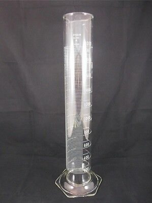 Corning PYREX Glass 2000mL 2L Serialized/Certified Graduated Cylinder Scale 3062