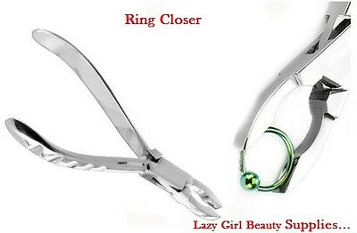 14cm Professional Small BCR Body-Piercing Ring Closing Closer Closure-Pliers CE