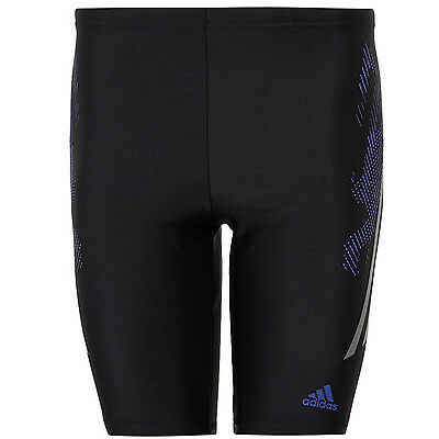 adidas Performance Mens Infintex Jammers Swimming Trunks Swim Shorts - Black