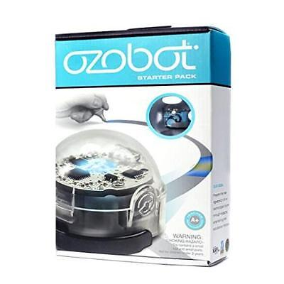 @New@ Ozobot Starter Pack Robot Toy (Beginner Series) Cool Blue Computers Table