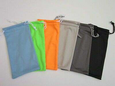 12 PCS Microfiber Sunglass Eyeglass Glasses Pouches US Seller Pick Color