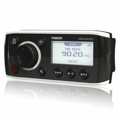 Fusion Ms-Ra50Bt Stereo Ipod Am Fm Ipod Iphone Marine Head Deck Bluetooth Bt100