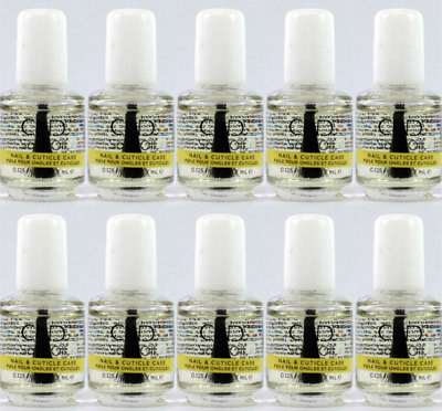 10 X CND Solar Oil Mini .125oz/3.7ml- Nail & Cuticle Conditioner - BIG SALE!