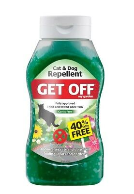 Get Off My Garden Cat & Dog Repellent 640g Discourages Stops Fowling On Lawns