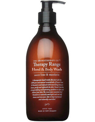 NEW The Aromatherapy Company Therapy Hand Wash 500ml Lime & Mandarin