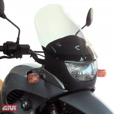 GIVI d234sg MOTORCYCLE BMW F 650 GS WINDSHIELD SMOKED WIND SHIELD NEW