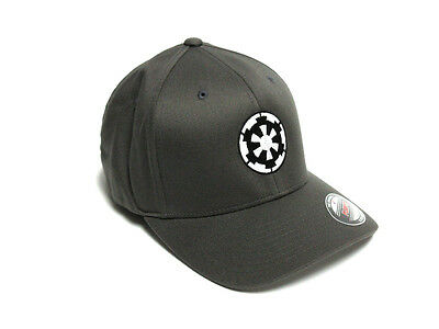 Star Wars Flexible Fit Embroidered Imperial Cog Baseball Cap Hat