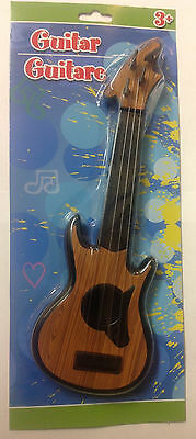 """Children's 4-String Acoustic Guitar Toy, Early Education Simulation - 11"""""""