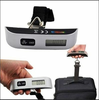 50kg Portable Hanging Electronic Digital Suitcase Luggage Weighing Scales FE