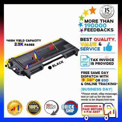 3 x TN-2025 Toner for Brother HL-2040 2070 2820 MFC 7420 7820 Printer Cartridge