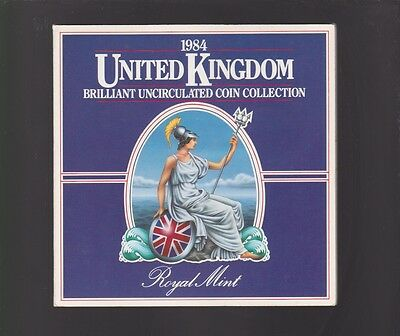 1984 United Kingdom UNC UNCIRCULATED  Coin Set Great Britain Royal Mint