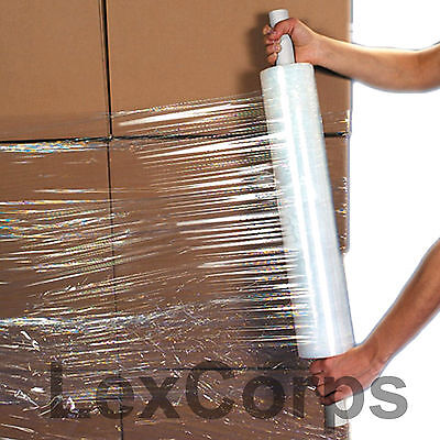 "Stretch Wrap 1 Roll 20"" X 1000 Feet 80 Gauge Move Pallet Luggage Plastic Shrink"