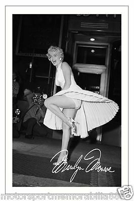 Marilyn Monroe Autograph Signed 6X4 Photo Print
