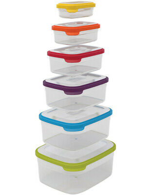 NEW Joseph Joseph Nest Storage 6pc Food Container Set