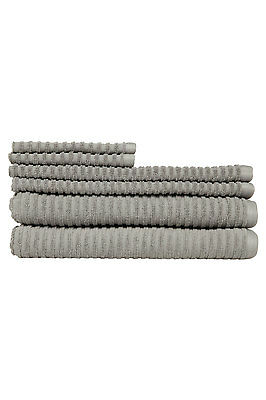 NEW Vue Pronto 6 Piece Towel Pack Grey