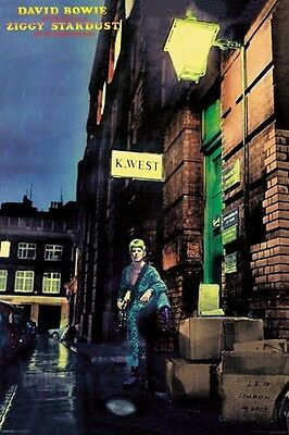 DAVID BOWIE - ZIGGY STARDUST & SPIDERS FROM MARS POSTER (90x60cm)  NEW LICENSED